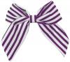 Daisy Daisy Striped Bow Hair Clip in Purple