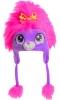 Jiglz Girls Peruvian Character Hat in Purple