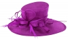 Max and Ellie Ascot Hat in Purple