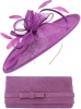 Max and Ellie Occasion Disc with Matching Occasion Bag in Purple