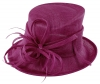 Max and Ellie Occasion Hat in Purple