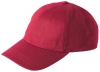 Failsworth Millinery Cotton Baseball Cap in Red