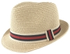 Hawkins Straw Trilby in Red