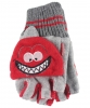 Jiglz Fleece Shooter Mits in Red