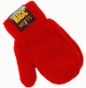 Magic Babies Mitts in Red