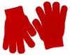 Magic Childrens Stretchy Gloves in Red