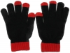 Magic Warm Smartphone Gloves in Red