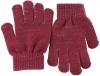 SSP Hats Glitter Gloves in Red