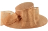 Failsworth Millinery Bow Ascot Hat in Rose-Gold