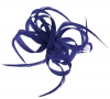 Aurora Collection Loops in Hessian Fascinator in Royal Blue