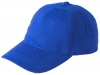 Failsworth Millinery Cotton Baseball Cap in Royal Blue