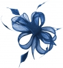 Hawkins Collection Sinamay Fascinator in Royal Blue