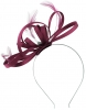 Failsworth Millinery Satin Loops Aliceband Fascinator in Rumba