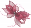 Failsworth Millinery Sinamay Clip Fascinator in Rumba
