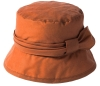 Failsworth Millinery Wax Hat in Rust