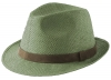 Failsworth Millinery Straw Trilby in Sage