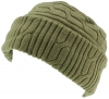 SSP Hats Thermal Patterned Fleece Beanie Hat in Sage