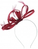 Failsworth Millinery Satin Loops Aliceband Fascinator in Samba