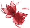 Failsworth Millinery Sinamay Diamante Clip Fascinator in Samba