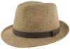 Failsworth Millinery Straw Trilby in Sand