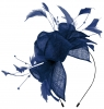 Max and Ellie Diamante Fascinator in Sapphire