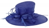 Max and Ellie Ascot Hat in Sapphire