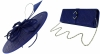 Failsworth Millinery Butterfly Events Disc with Matching Sinamay Bag in Cobalt