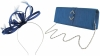 Failsworth Millinery Satin Loops Aliceband Fascinator with Matching Bag in Cobalt