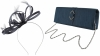 Failsworth Millinery Satin Loops Aliceband Fascinator with Matching Bag in Midnight