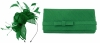 Max and Ellie Diamante Fascinator with Matching Occasion Bag in Emerald