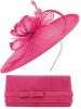 Max and Ellie Occasion Disc with Matching Occasion Bag in Fuchsia
