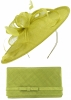 Max and Ellie Occasion Disc with Matching Large Occasion Bag in Lime