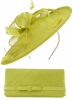 Max and Ellie Occasion Disc with Matching Occasion Bag in Lime