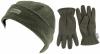 SSP Hats Thinsulate Ladies Beanie with Matching Gloves in Dark Grey