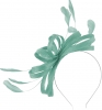 Failsworth Millinery Sinamay Loops Fascinator in Sky