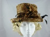 Frederick Fox Feather Print Wedding Hat