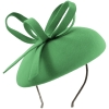 Failsworth Millinery Aliceband Wool Pillbox in Spruce