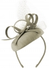 Failsworth Millinery Silk Pillbox in Steel