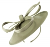 Failsworth Millinery Taffeta Disc in Steel