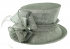 Failsworth Millinery Wedding Hat in Steel