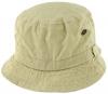 SSP Hats Faded Denim Effect Bush Hat in Stone