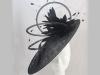 Suzie Mahony Designs Ascot Black Hat