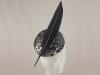 Suzie Mahony Designs Metallic Feather Button
