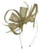 Max and Ellie Flower Fascinator in Taupe