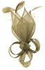 Max and Ellie Lily Comb Fascinator in Taupe