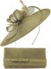 Max and Ellie Occasion Disc with Matching Occasion Bag in Taupe