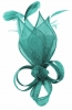 Max and Ellie Lily Comb Fascinator in Turquoise