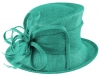 Max and Ellie Occasion Hat in Turquoise