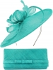 Max and Ellie Occasion Disc with Matching Occasion Bag in Turquoise