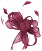 Hawkins Collection Sinamay Fascinator in Violet